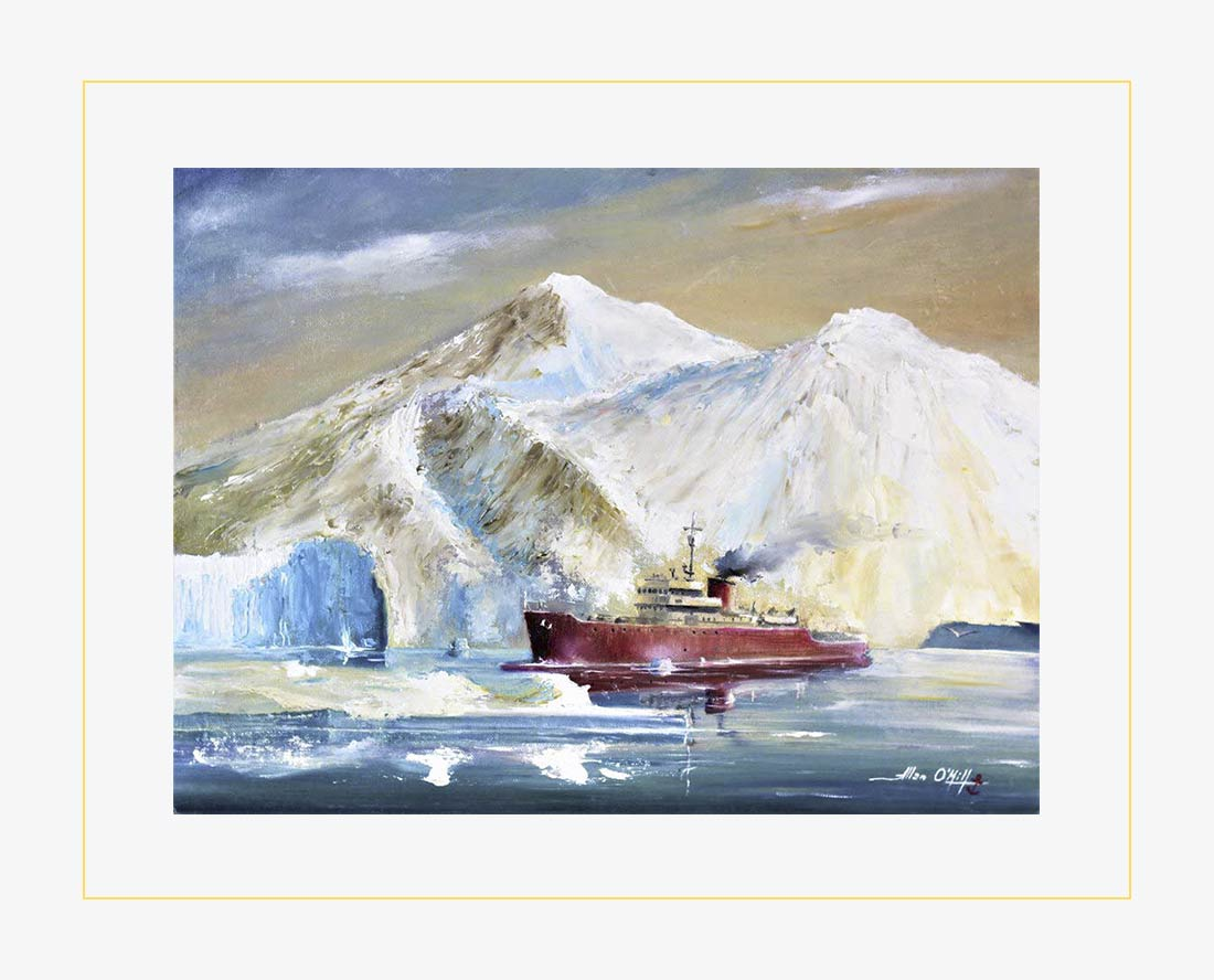 Allan 'O Mill - Tra i ghiacci dell'Antartide